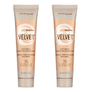 Maybelline Dream Velvet Foundation Makeup, MANY TO PICK FROM 2 PACK, Great Price