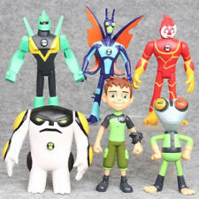 Ben 10 Character 6 PCS Action Figure Toys Ultimate Alien Grey Matter Kineceleran