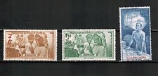 1942 - Guadeloupe - Colonies - Série Timbres neufs - Yt..P.A n°1/3
