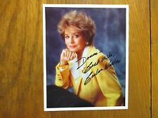 """BARBARA WALTERS  (""""The  View"""")(""""20/20"""") Signed  8"""" X 10"""" Color Photo"""