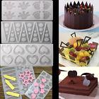 Diy Silicone Chocolate Fondant Candy Cake Decorating Sugarcraft Baking Mould