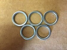 Set of 5: OEM Crushable Oil Drain Plug Gaskets For Mitsubishi MD050317 Free Ship