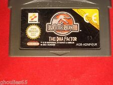 JURASSIC PARK III GAME BOY ADVANCE JURASSIC PARK 3 NINTENDO GBA