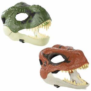Jurassic World Fallen Kingdom Mask Choose From Green T Rex - Red Velociraptor