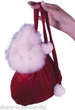 SEXY Donna Miss Babbo Natale Natale Bag Purse Costume Accessorio