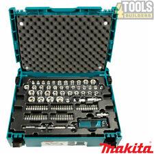 Makita E-08713 120 Piece General Maintenance Spanner Socket Set In Makpac Case