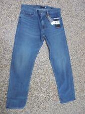 NWT Banana Republic Straight Fit Men's Rapid Movement Jeans Indigo Blue 34 X 30