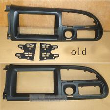 Black Fascias Car Radio Stereo Face Trim Panel Frame Kit For Ford Old Transit