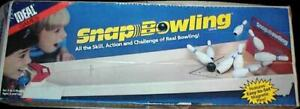 Ideal Games Snap Bowling Parts & Pieces 1986