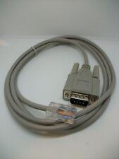 RJ45 to RS232 - DB9 9-Pin Serial Port Male to RJ45 - Cat5 Ethernet LAN - 5 feet