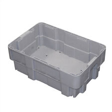 More details for 600 x 400 x 220 euro stackable boxes heavy duty plastic totes container crates