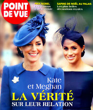 Point de Vue KATE MIDDLETON & MEGHAN MARKLE_DIMITRI DE YOUGOSLAVIE Dec 2018 ©TBC