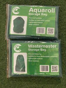 AQUAROLL / Wastemaster Storage Bag Green SET- EM64 / EM613.