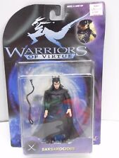 1997 WARRIORS OF VIRTUE BARBAROCIOUS ACTION FIGURE BY PLAY'EM SEALED
