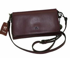 BORSA IN PELLE CON TRACOLLA   YNOT I734  SHOULDER  BAG LEATHER BORDO