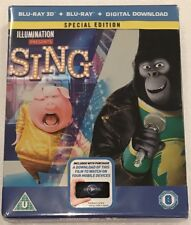Sing Steelbook - Limited Edition Blu-Ray