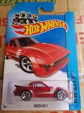 Hotwheels 2014 - Mazda RX7 SA22 Rotary - Red [NO Rollcage Variation]