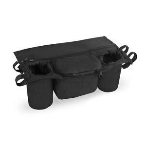 BUGGY ORGANISER | Storage Bag for Pram Pushchair Stroller Cup Holder Baby Travel