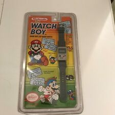 GAME BOY - WATCH-BOY LCD WRIST WATCH Original 1990s Sealed