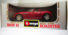 6742:Bburago BMW M Roadster,1996,1:18,rot,Excel Collection,Mod.:3349,in OVP.