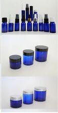 Blue Glass Bottle Aromatherapy Supplies