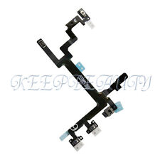 NEW Power Mute Volume Button Switch Connector Flex Cable For Apple iPhone 5