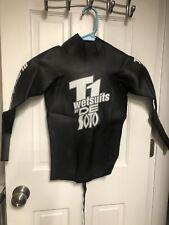 Euc DeSoto Sport T1 Wetsuit Black Pearl Pullover Size 2 Triathlon Wetsuit Small