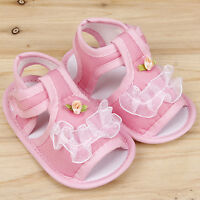 Kids Flower Cartoon Children Princess Sandals Baby Girls Beach Sandal Shoes Size