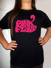 PINK FLOYD logo 2 t-shirt BLACK shirt clothing kid shirt children PINK FLOYD