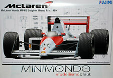 KIT MCLAREN HONDA MP4/5 BELGIUM GP 1989 SENNA PROST 1/20 FUJIMI GP22 09066