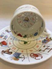 Royal Kendal Tessomancy  Fortune Telling Cup/Saucer Tea Leaf Reading Cup 1985