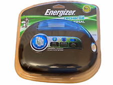 Energizer Universal Charger Charges AA AAA C D 9V - 3 to 5 Hours - Safety Timer
