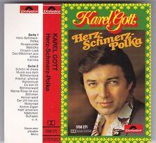 KAREL GOTT - HERZ-SCHMERZ-POLKA MC POLYDOR © 1975 GERMANY AUDIO KASSETTE TAPE