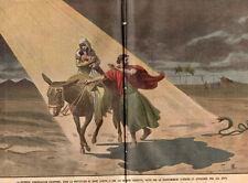 RELIGION VIERGE MARIE JOSEPH SERPENT LOI HERODE APPROUVE JUIF IMAGE 1901 PRINT