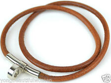 AUTHENTIC HERMES KELLY LEATHER CHOKER / BRACELET FOR CADENA CHARM