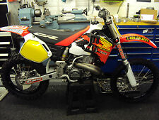 1989 to 2001 HONDA CR 500 JEREMY MCGRATH REPLICA GRAPHICS KIT EVO SUPER EVO