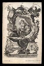santino incisione1700 S.PIETRO AP. klauber