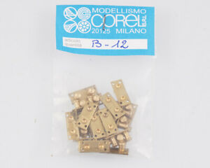 Corel B12 Taquet 2 Éléments 3,5 MM (20 Pièces) Modélisme