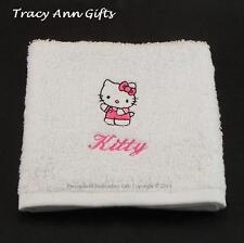 PERSONALIZZATO MINI HELLO KITTY Viso Flanella-regalo ideale per le ragazze!