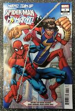 Marvel Team-Up: Spider-Man and Ms Marvel #1 Nauck 1:25 Variant