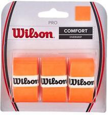 Overgrip Tennis WILSON Pro Overgrip Arancione Burn n.1 confezione da 3