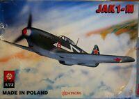 ZTS 1/72 Yakovlev Jak 1-M unmade kit complete sealed bag