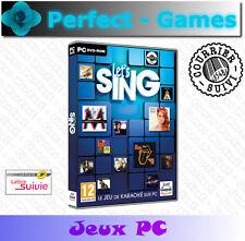 LET'S SING KARAOKE musique dance chant voice PC Games jeux PC neuf sous blister