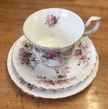 Royal Albert Lavender Rose  vintage trio Cup / saucer / tea plate