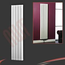 "423mm(w) x 1800mm(h) ""Proteus"" White Vertical Designer Radiator- Unique Profile"