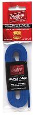 New Rawlings Glove Lace 48 inch Baseball/Softball rawhide leather blue 3/16