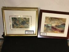 """Collages X2 Signed"""" Emma Lou Martin"""". See12pixs4detail/sizes(various).MAKE OFFER"""