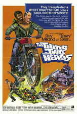 """THE THING WITH TWO HEADS Movie POSTER 27x40 Ray Milland Roosevelt """"Rosie"""" Grier"""