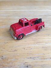 """Vintage Fire engine truck Midgetoy Tootsie Emergency Pick Up Truck 2.2"""""""