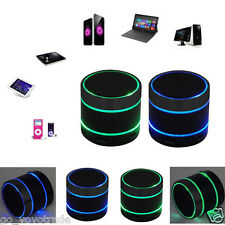 Bluetooth Wireless Mini Portable Speaker With LED Light for iPhone iPad Samsung